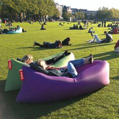 Fatboy's Lamzac™ Original Inflatable Lounge Chair| YLiving