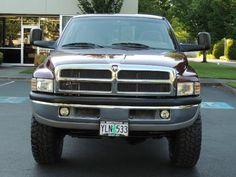 2001 Dodge Ram 2500 SLT 4X4 Quad Cab / 5.9L CUMMINS Diesel / LIFTED !! Dodge 2500 Cummins, 2nd Gen Cummins, Cummins Turbo Diesel, 4 Door Trucks, Dakota Truck, Ram Power Wagon, Car Detailing, Quad, Arcade