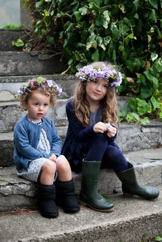 Winter clothing for girls by Irish designer Leigh Tucker, exclusively for Dunnes Stores Boy Fashion, Boy Or Girl, Winter Outfits, Irish, Retro, Clothing, Fabric, Kids, Baby