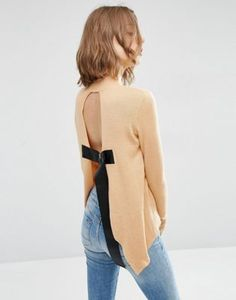 ASOS Sweater with Open Back  11-11-16 (REP)
