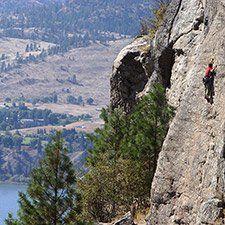Alpine climbing in North America originated in British Columbia. #Climbing and #Caving
