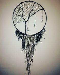 Atrapasueños de árbol de la vida por faemymade en Etsy