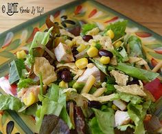 BBQ-Ranch Chicken Salad