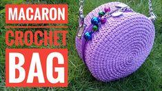 Crochet || how to make macaron crochet bag