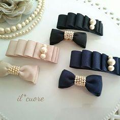 How to make ribbon bow? 8 tips to make a 5 inch hair bow. Making Hair Bows, Diy Hair Bows, Diy Hair Clips, Ribbon Hair Clips, Diy Ribbon, Ribbon Bows, Ribbons, Diy Headband, Headbands