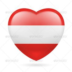 Heart Icon of Austria  #graphicriver