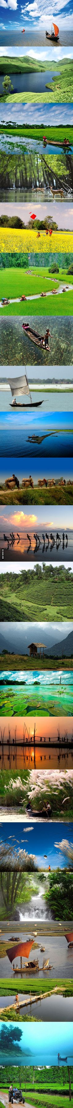 I heard you guys love to travel. Ever thought of visiting Bangladesh.
