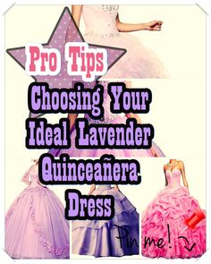 Lavender Quinceanera dress shopping is usually one of the best and worst portions of event planning. to be able to keep your sanity in order, have a look at the tips of ours, including style, size. Lavender Quinceanera Dresses, Quinceanera Party, Bid Day, Little Princess, Dreaming Of You, Feminine, Gowns, American, Lady