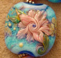 Blue Monet by Fire-Imp Lampwork Beads