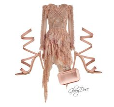 """""""Untitled #55"""" by chichimia on Polyvore featuring Zimmermann, Gianvito Rossi and Jimmy Choo"""
