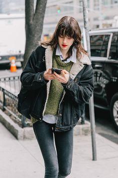 43 super Ideas for style street women collage vintage Look Fashion, Girl Fashion, Winter Fashion, Fashion Outfits, Fashion Weeks, Milan Fashion, Warm Outfits, Trendy Outfits, Winter Outfits