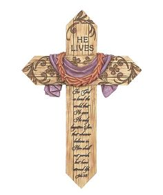 Another great find on #zulily! Easter Wall Cross #zulilyfinds