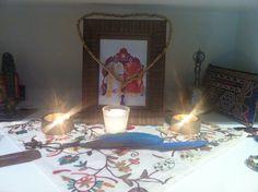 Altar da shadana de setembro
