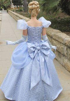 Disney Cosplay as cinderella she taking a long walk to disneyland Cinderella Cosplay, Cinderella Disney, Disney Princess Dresses, Cinderella Dresses, Disney Cosplay, Princess Costumes, Disney Costumes, Disney Dresses, Cinderella Original