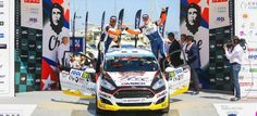 Nil Solans y Miki Ibáñez Campeones del Mundo del WRC3