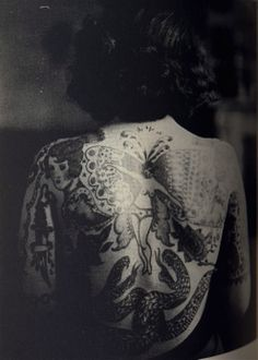 Tattooed Ladies in the early 1900s