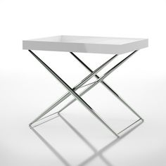 Sandhurst Side Table White, $265, now featured on Fab.