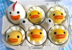 deviled egg  art | Click the pictures to take you to the sources and find out how to make ...