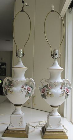 Capodimonte On Pinterest Porcelain Table Lamps And Vase