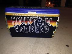 Mountain Weekend Cooler   The Cooler Connection on Pinterest