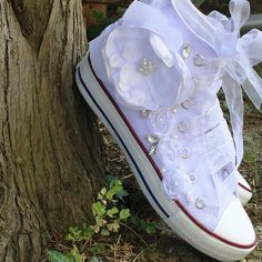 NEW CONVERSES are COMING Wedding ShoesWhite Wedding by KILIGDESIGN