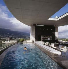 This hotel is located near the heart of Monterrey. The boutique hotel offers free Wi-Fi a rooftop outdoor pool and an on-site restaurant. Habita MTY Monterrey Mexico D:San Pedro Garza Garcia R:Nuevo León hotel Hotels Hotel Swimming Pool, Amazing Swimming Pools, Hotel Pool, Swimming Pool Designs, Epic Pools, Awesome Pools, Luxury Swimming Pools, Hotel Lounge, Pool Bar