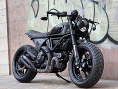 Black is Black New Scrambler Ducati
