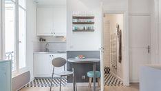 2,4 m2 pour une cuisine maxi chic