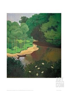 Art.fr - Giclée 'The Dordogne near Carennac' par Félix Vallotton