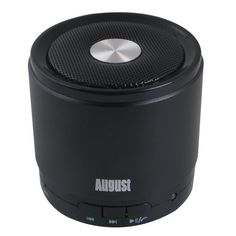 August MS425B Portable Bluetooth Speaker with Microphone - Powerful Wireless Speaker and Cell Phone Hands Free Kit - Compatible with iPhones, Samsung, Galaxy,Nokia, HTC, Blackberry, Google, LG, Nexus, iPad, Tablets, Mobile Phones, Smartphones, PC's, Laptops etc by August. $12.95. The August MS425 is a small and powerful high quality speaker that will follow you everywhere; connects easily to any Bluetooth enabled device - cell phones, MP3 players, Laptops - givi...