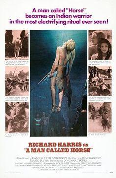 A Man Called Horse Us Poster Center: Richard Harris Top Right: Richard Harris Corinna Tsopei 1970 Movie Poster Masterprint (24 x 36)