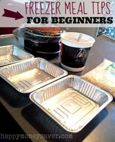 A great guide for beginners on FREEZER MEALS