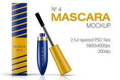 Mascara Mockup Vol. 4 by Digitalphaser on @creativemarket