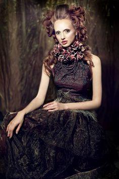 designer, stylist Alisa Maksimova