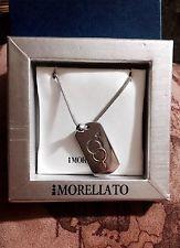 Collana morellato con Medaglina Cromo Con simbolo Unisex | eBay