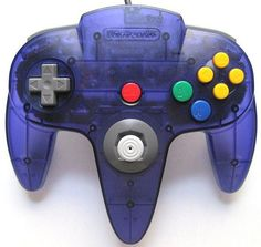 Grape Purple N64 Controller
