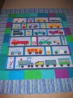 transportation quilt