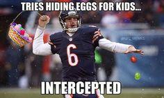 Jay Cutler's Easter
