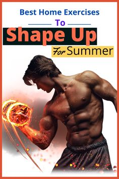 Best Home Exercises to Shape Up for Summer!!! #fitness #workout #exercises #summer Fitness Diet, Fitness Goals, Fitness Motivation, Health Fitness, Best At Home Workout, At Home Workouts, Workout Videos, Workout Exercises, Types Of Cardio