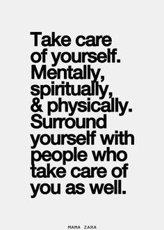 Goed voor jezelf zorgen. En over hoe moeilijk dat soms is.