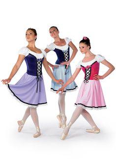 Coppelia - swanhilda : 3 kids, one for each color....!!!