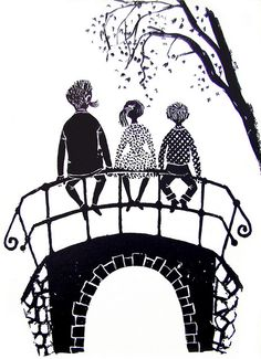 On the bridge