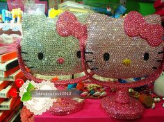 Hello Kitty Crystal Diamond Makeup Mirror
