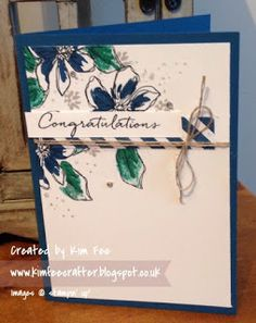 Stampin Up UK Demonstrator Simplyfairies: Stampin Creative Blog Hop Stampin Up On Trend,    Penned & Painted
