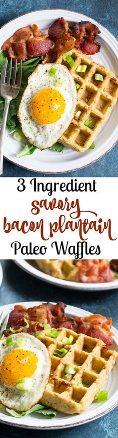 These savory bacon p