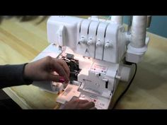 How to Thread a Serger with Decorative Thread - YouTube