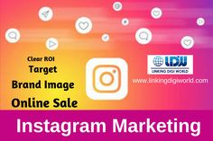It is not necessary that you need your business to be on Instagram but the main aspect to be on instagram  is that you will get thousands of followers and it will spread your business all over the world. It is a social network that provides a great marketing platform to reach possible customers from every corner of the world. Promote your business through Instagram at www.linkingdigiworld.com #DigitalMarketing #Marketing #Tools #Social #Media #Ranking #Sales Marketing Tools, Digital Marketing, Promote Your Business, Online Sales, Followers, Promotion, Corner, Platform, Social Media