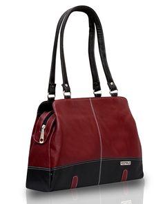 Fostelo Women's Handbag Maroon (FSB-409)