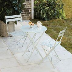 3pc Cafe Folding Table | Ballard Designs