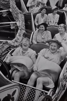 You can choose to live your life with the joy of the front row or solemness of the third row : )
